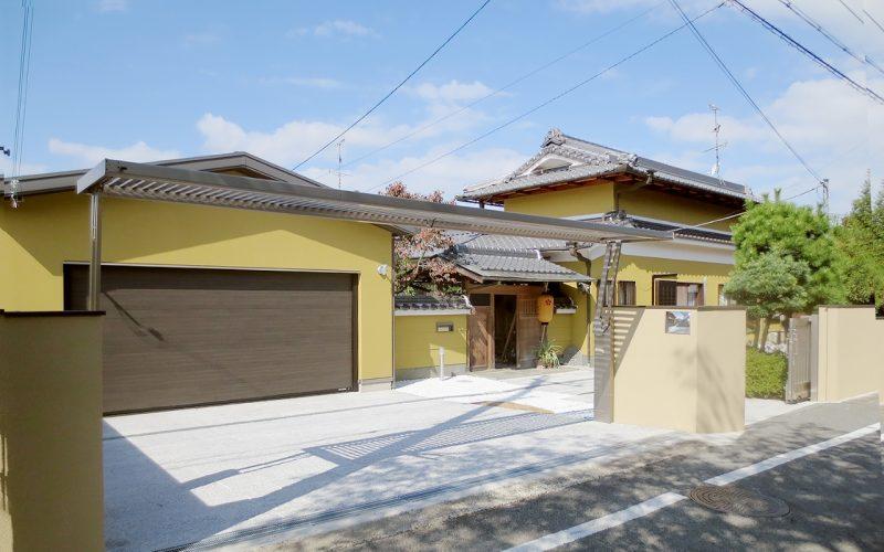 生まれ変わった日本家屋